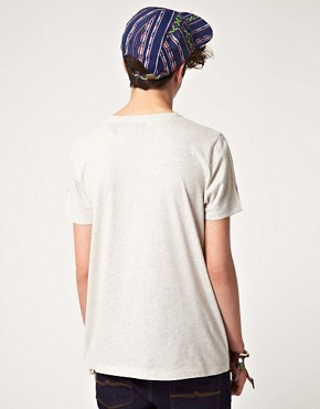 Bild 2 von ASOS  T-Shirt mit ganzflchigem Ethnomuster