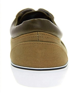 Image 3 ofASOS Plimsolls With Cuff