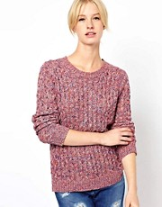 Boutique by Jaeger Spacedye Waffle Knit in Cotton