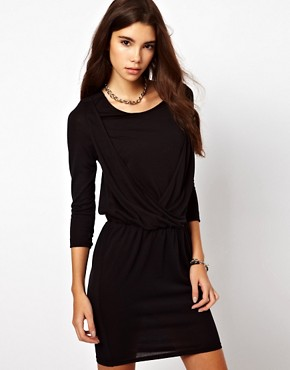 Image 2 ofBy Zoe Draped Jersey Dress with Open Back
