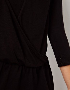 Image 3 ofBy Zoe Draped Jersey Dress with Open Back