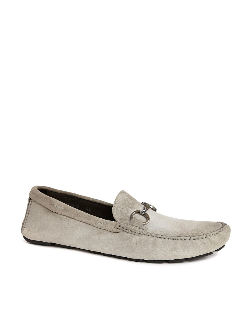 Dolce & Gabbana Suede Loafers - Grey