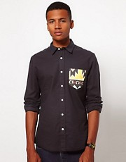ASOS Oxford Shirt With Contrast Pocket
