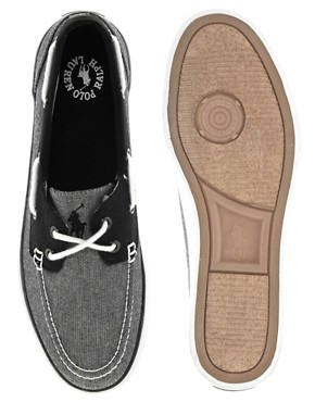 Image 3 ofPolo Ralph Lauren Lander Boat Plimsolls