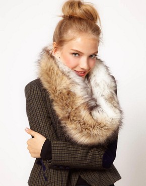 Image 1 ofASOS Faux Fur Snood