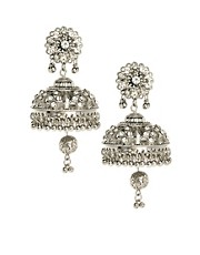 ASOS Domed Filigree Chandelier Earring