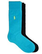 Polo Ralph Lauren 2 Pack Socks Egyptian Cotton