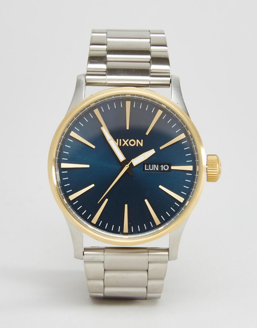Nixon Sentry SS Watch In Stainless Steel
