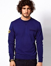 G Star Crew Sweatshirt Aero Altitude