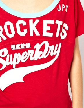 Image 3 ofSuperdry Burnout Football T-Shirt