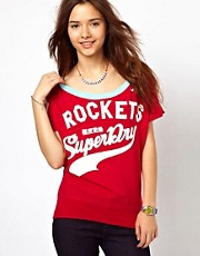 Superdry Burnout Football T-Shirt