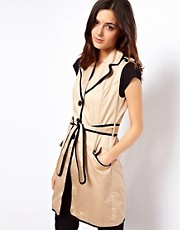 ASOS Sleeveless Trench
