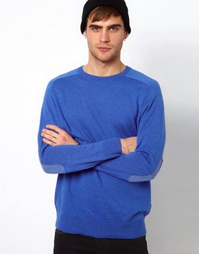 Image 1 ofRiver Island Elbow Patch Jumper