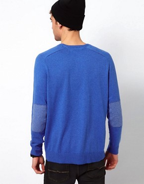 Image 2 ofRiver Island Elbow Patch Jumper