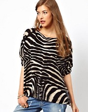 Denim &amp; Supply Zebra Jumper