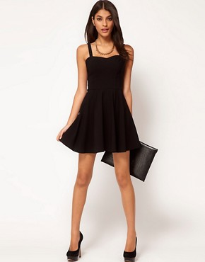 Image 4 ofASOS Skater Dress In Bengaline