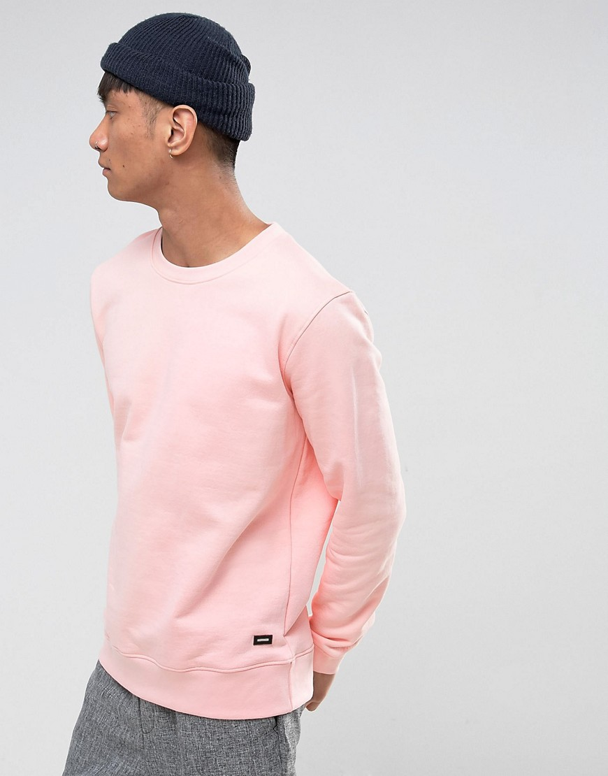 Dr Denim Smith Sweater - Player pink