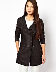 Muubaa Leather Melilla Coat