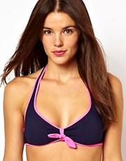 Marc By Marc Jacobs Light Hearted Reversible Halter Bikini Top