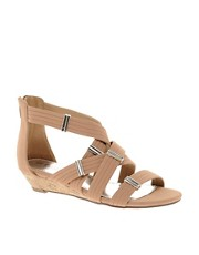 New Look Follow Strapped Low Wedge Sandals