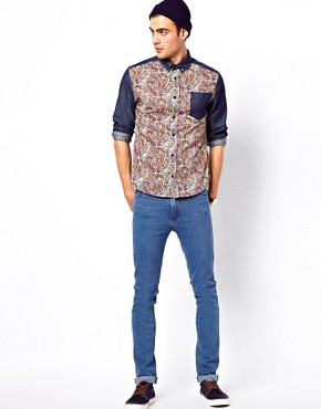 Image 4 ofApril 77 Ace Shirt with Paisley Printed