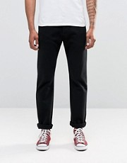 Levis Jeans 501 Straight Fit Black