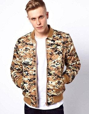 Image 1 ofVillain Leon Bomber Jacket