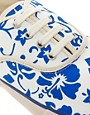 Image 2 ofYMC Printed Plimsolls