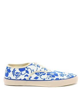 Image 4 ofYMC Printed Plimsolls