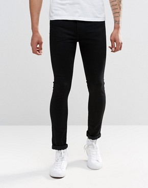 Levi's 519 Super Skinny Jeans Rooftop Black Rinse