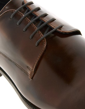Image 2 ofASOS Derby Shoes With Leather Sole