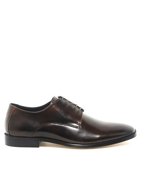 Image 4 ofASOS Derby Shoes With Leather Sole