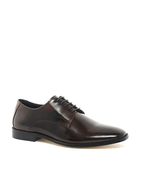 Image 1 ofASOS Derby Shoes With Leather Sole
