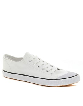 Image 1 ofCheap Monday Birdman Low Plimsolls