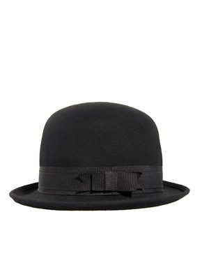 Image 2 ofASOS Felt Roll Brim Bowler