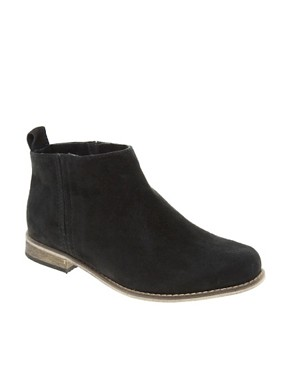 Image 1 ofASOS ADVANCE Suede Chelsea Ankle Boots