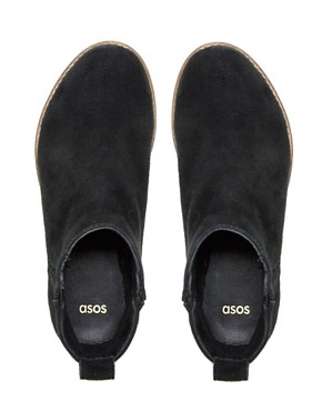 Image 2 ofASOS ADVANCE Suede Chelsea Ankle Boots