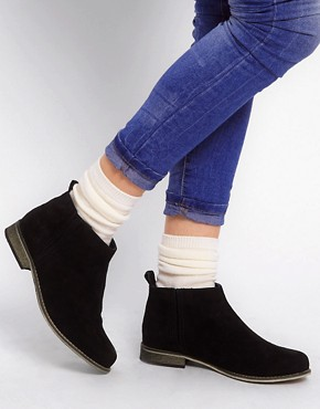 Image 3 ofASOS ADVANCE Suede Chelsea Ankle Boots