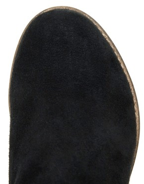 Image 4 ofASOS ADVANCE Suede Chelsea Ankle Boots