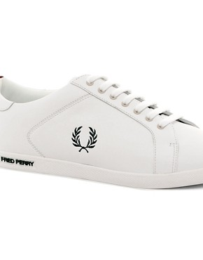 Image 2 of Fred Perry Earl Leather Trainers