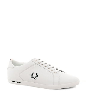 Image 1 of Fred Perry Earl Leather Trainers