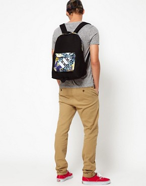 Image 3 ofASOS House Party Contrast Pocket Backpack