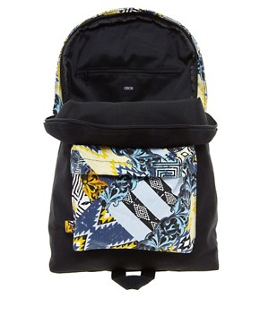 Image 4 ofASOS House Party Contrast Pocket Backpack