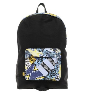 Image 1 ofASOS House Party Contrast Pocket Backpack