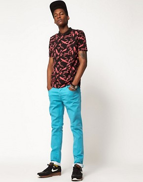 Image 4 ofASOS Polo With All Over Print