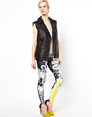 Emma Cook  Leggings mit gelbem Matrosenmotiv