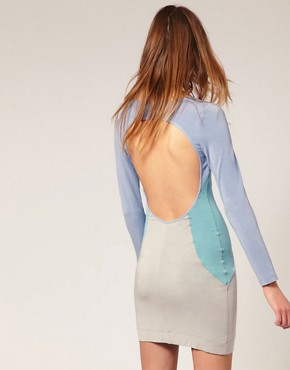 Image 2 ofJonathan Saunders Lunain Backless Bodycon Dress