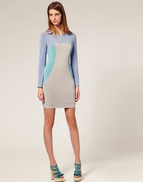 Image 4 ofJonathan Saunders Lunain Backless Bodycon Dress