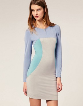 Image 1 ofJonathan Saunders Lunain Backless Bodycon Dress