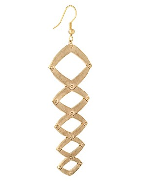 Image 4 ofHouse Of Harlow 1960 Geometric Dangle Earrings